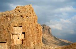 Les tombeaux s'approchent de Persepolis Image libre de droits