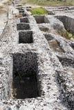 Tombes de Messapiche Photo stock