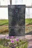 Les tombes des soldats soviétiques tués dans la deuxième guerre mondiale Photographie stock libre de droits