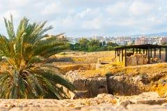 Les tombes royales cyprus photographie stock libre de droits