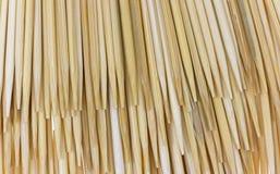 Les Toothpicks de groupe clôturent la vue Photos stock