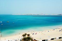 Les touristes appréciant leurs vacances Images stock