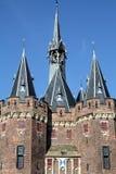 Les tours de la porte de ville Image libre de droits