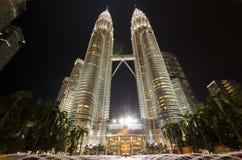 Les tours de Petronas Photo libre de droits