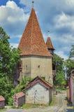 Les tours de Sighisoara, Roumanie Images libres de droits