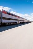 Les trains continuent toujours à venir photo libre de droits