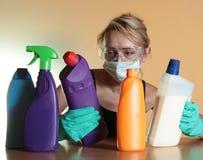 Les travaux domestiques Images stock