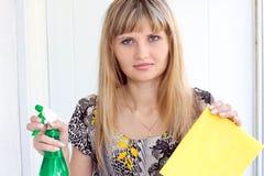 les travaux domestiques Photo libre de droits