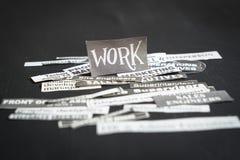 Les travaux ou concept de carrières photos stock