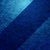 Les triangles géométriques de Digital soustraient le fond de vecteur lumineux et le transparent Photo stock