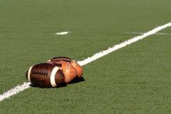 Les trois football de Wilson Photographie stock libre de droits