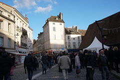 Les Trois Glorieuses de Bourgogne τρία λαμπρό Daysin Beaune Στοκ Εικόνες