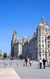 Les trois grâces, Liverpool Photographie stock