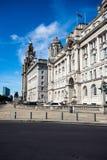Les trois grâces, Liverpool Photo stock