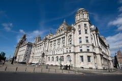 Les trois grâces, Liverpool Photos libres de droits