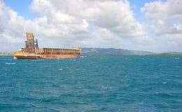 Les Trois Ilets - Fort-de-France - Martinica - ilha tropical do mar das caraíbas Imagens de Stock Royalty Free