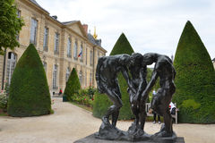 Les Trois Ombres at the Musee Rodin, Paris Royalty Free Stock Images