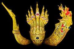 Les trois principaux de la péniche royale sur 200 ans Photos libres de droits