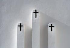 Les trois spiritueux Photo libre de droits