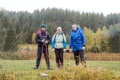Les trois voyageurs Image stock