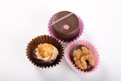 Les truffes délicieuses - première vue Photographie stock