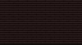 Les tuiles de mosaïque en céramique de rectangle noir simple donnent au fond une consistance rugueuse illustration de vecteur