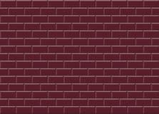 Les tuiles de mosaïque en céramique rouges de Bourgogne donnent au fond une consistance rugueuse illustration libre de droits