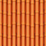 Les tuiles de toit de la texture et du détail classiques logent l'illustration matérielle de vecteur de modèle sans couture Photographie stock