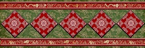 Les tuiles numériques colorées conçoivent le mur en céramique intérieur de la maison IR de décor de sapin couvre de tuiles la con photo libre de droits