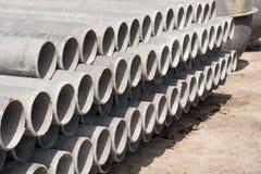 Les tuyaux d'amiante-ciment Photographie stock
