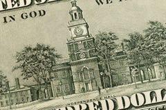 Les USA cent éléments du dollar, macro superbe, se ferment vers le haut de la photo images libres de droits