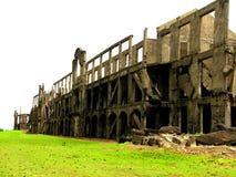 Les USA chahutent des ruines Corregidor Image libre de droits