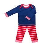 Les vêtements des enfants Image libre de droits
