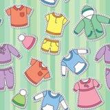 Les vêtements des enfants Photo stock