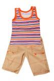 Les vêtements des enfants photos libres de droits