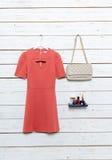 Les vêtements et les accessoires des femmes Image stock