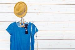 Les vêtements et les accessoires des femmes Photos libres de droits