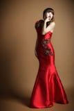 Les vêtements pour femmes une robe de mariage Photo libre de droits