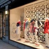 Les vêtements stockent, New York photo libre de droits