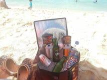 Les vacances détendent Images libres de droits