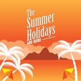 Les vacances d'été Image libre de droits
