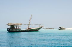 Les vacances d'été de Zanzibar décrivent l'inspiration pendant des vacances sur l'île Photo stock