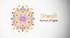 Les vacances de Diwali, festival des lumières dirigent l'illustration illustration de vecteur