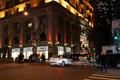 Les vacances 2015 de Fifth Avenue Windows 56 Photos stock