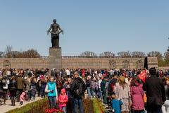 Les vacances de jour de victoire peuvent 9 au mémorial à St Petersburg Image libre de droits