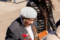 Les vacances de jour de victoire peuvent 9 au mémorial à St Petersburg Photos libres de droits