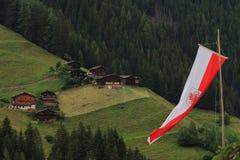 Les vacances en Italie possèdent les Alpes Photo libre de droits