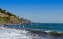 Les vagues de la mer Photographie stock libre de droits