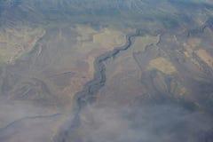 Les vagues de la terre Image libre de droits