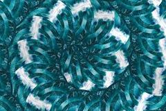 Les vagues de mer d'océan entourent le diplacement Se d?veloppent en spirales la configuration Conception géométrique de collage  illustration de vecteur
